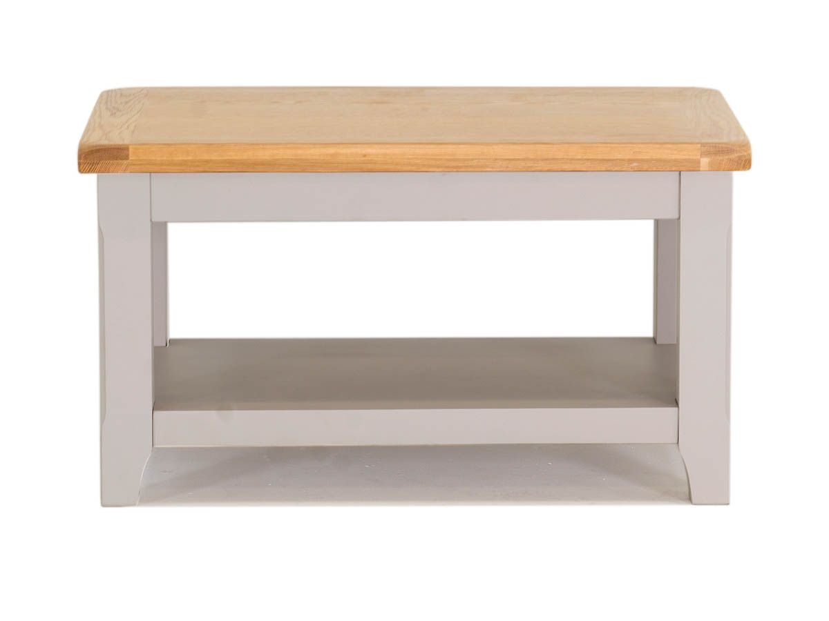 Clemence Grey Oak Country Style Coffee Table