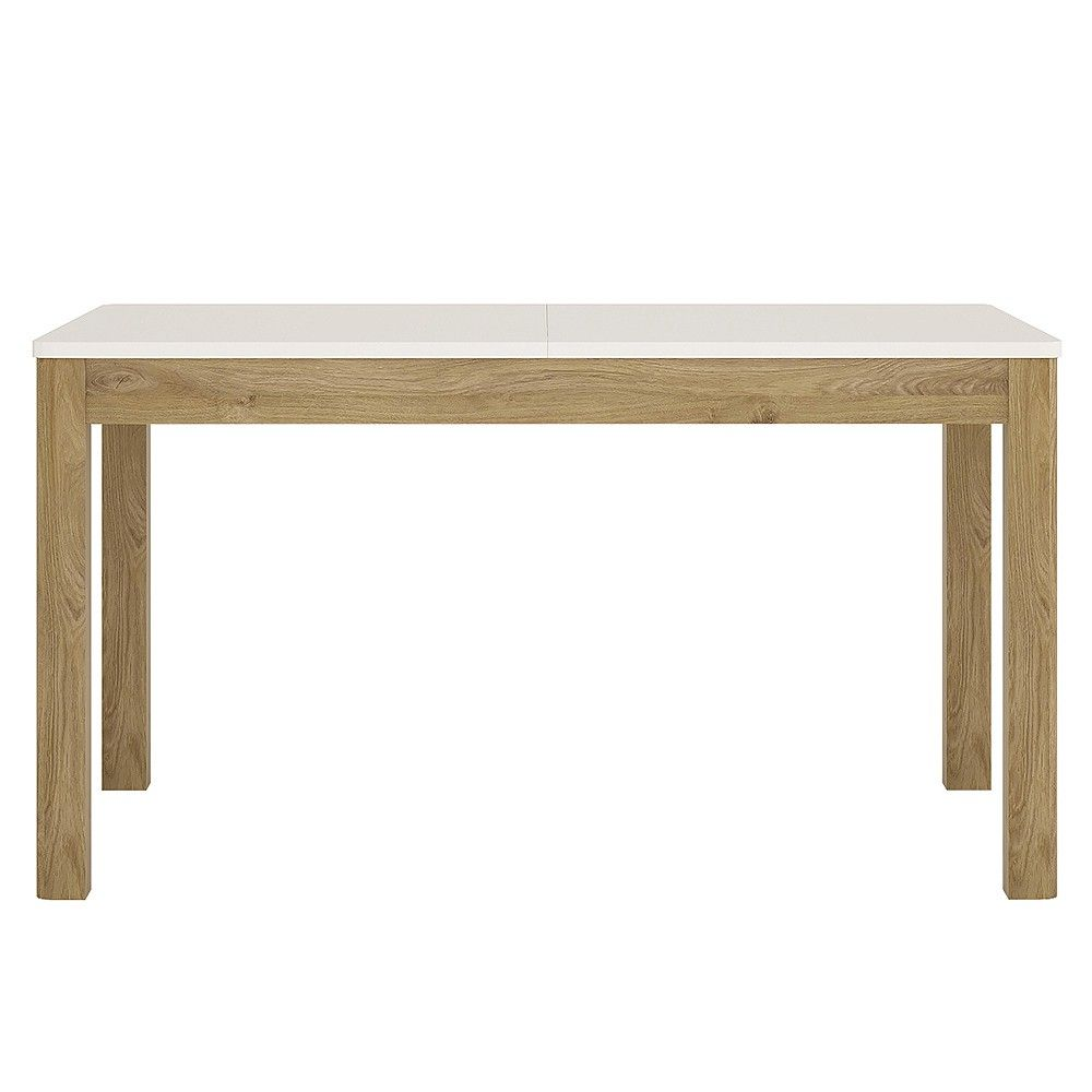 Table Uk With Effect Contemporary Table Dorset Gloss Contemporary Oak  Dining Dining Oak High Extending ...