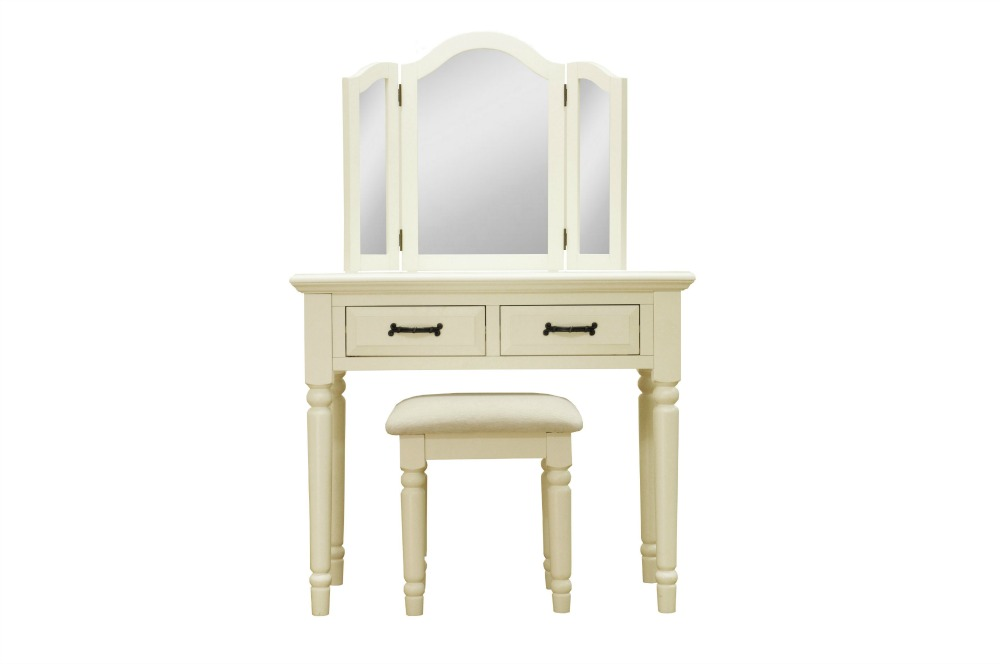 French Louis Elegant Ivory Painted Pine Two Drawer  : french louis elegant ivory painted pine two drawer dressing table mirror and stool set 24024 p from www.uniquechicfurniture.co.uk size 1000 x 664 jpeg 37kB