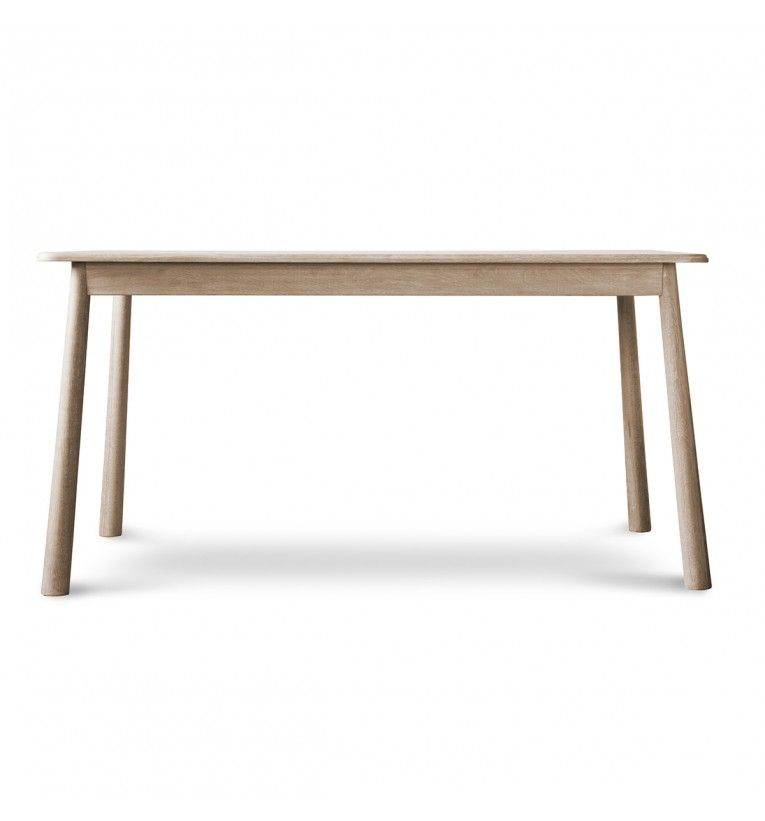 Wycombe contemporary oak large dining table james uk for Contemporary oak dining table